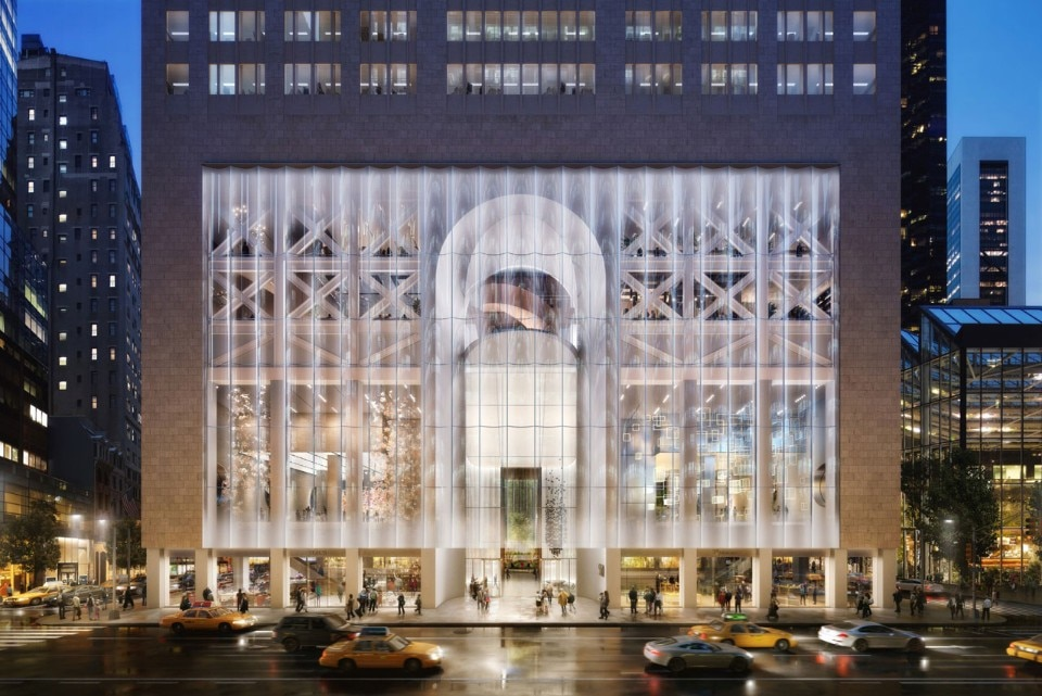 Snohetta's design for the At&T Building by Philip Johnson in Manhattan