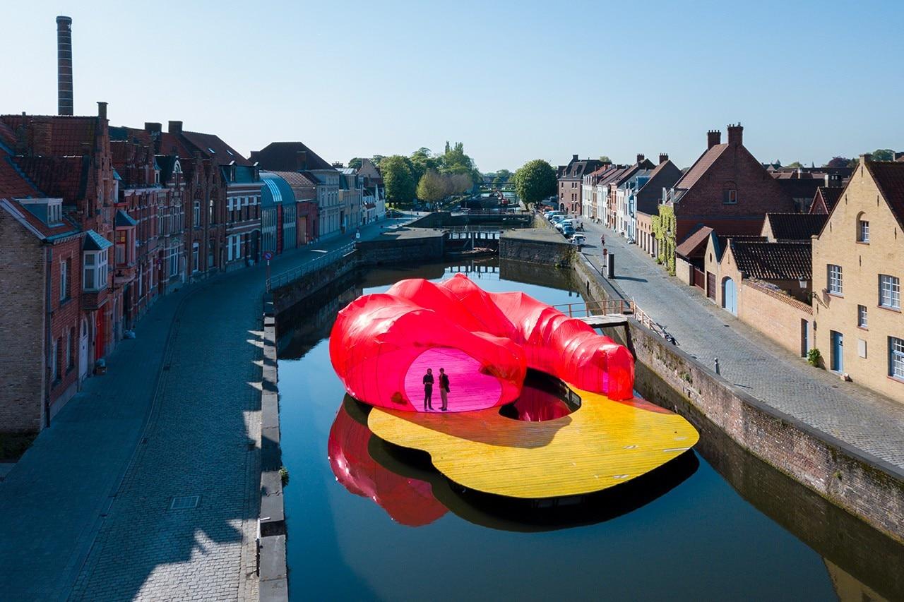Selgascano Completes A Floating Pavilion In Bruges Domus