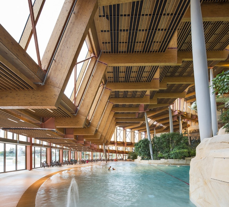 Img.30 Jacques Ferrier Architecture, Water Park Aqualagon, Marne-la-Vallée, France, 2018