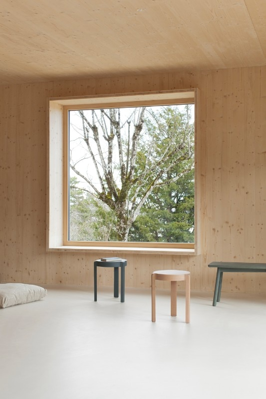 Burgundy a wooden house heats up without gas or - Casa passiva milano ...