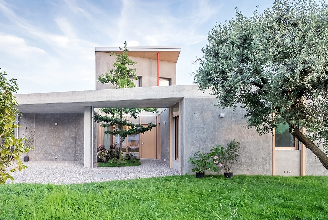 Casa Con Giardino Brescia : Lombardia oasi architects design a house with garden