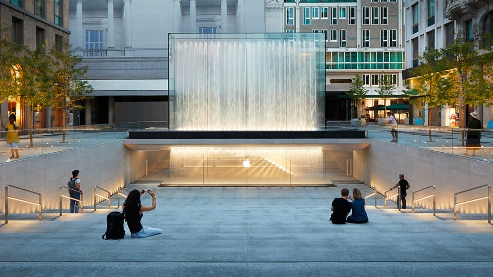 Foster + Partners, Apple Store Liberty, Milan, 2018