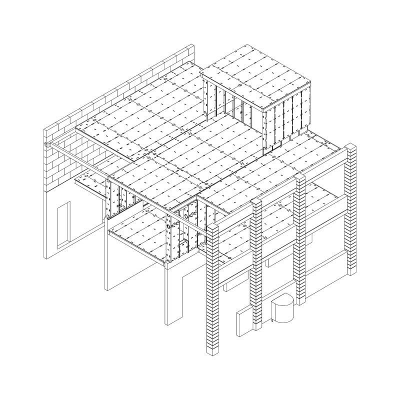 Cheap 3 Bedroom House Plan Centimetres