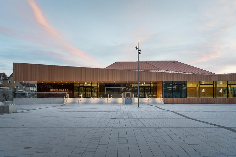 Architekten bda builds an elegant conference hall on lake constance - Architekten lindau ...