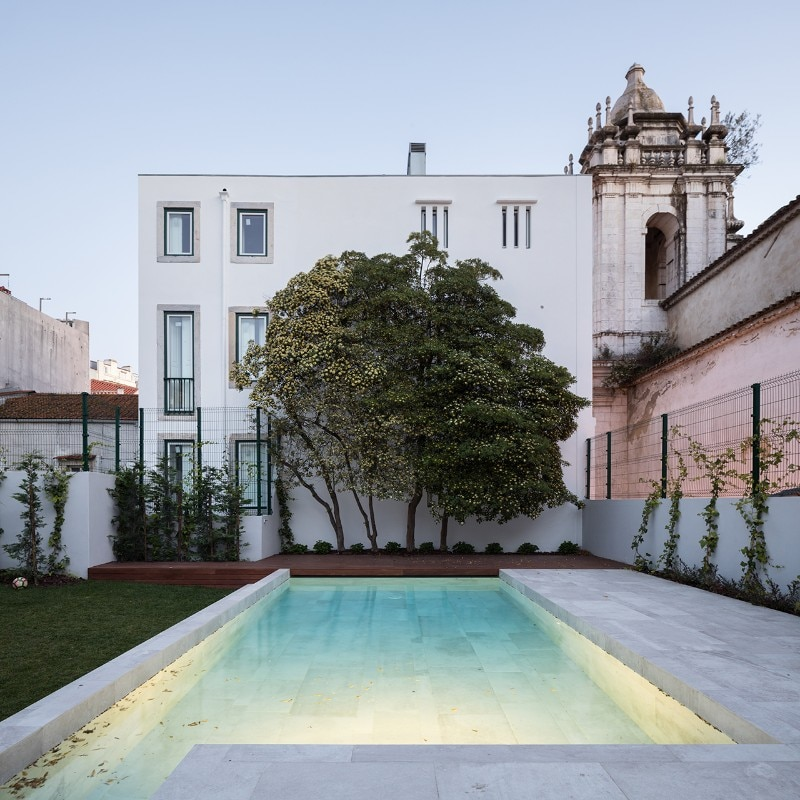 António Costa Lima, private house, Lisbon, Portugal, 2018