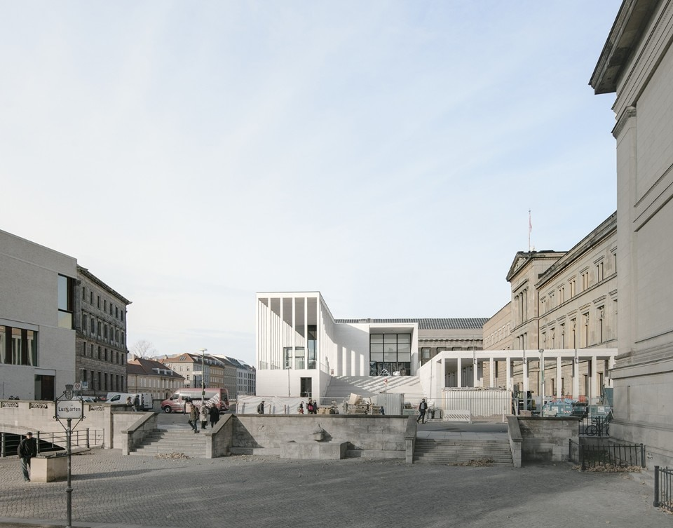 David Chipperfield Architects Berlin, James Simon Galerie, Berlin, Germany, 2018