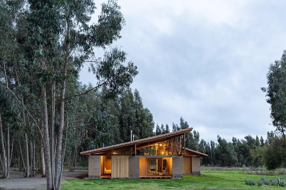 Rama Estudio, country house, Lasso, Ecuador, 2018