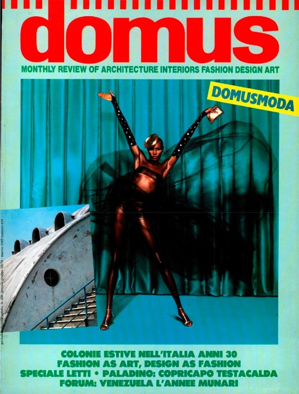 The cover of Domus 659, March 1985