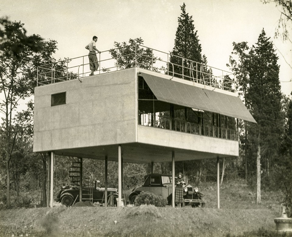 Albert Frey, Canvas Weekend House, Fort Salonga, Northport, Long Island, New York, 1933-4. Special Collections, John D. Rockefeller Jr. Library, The Colonial Williamsburg Foundation