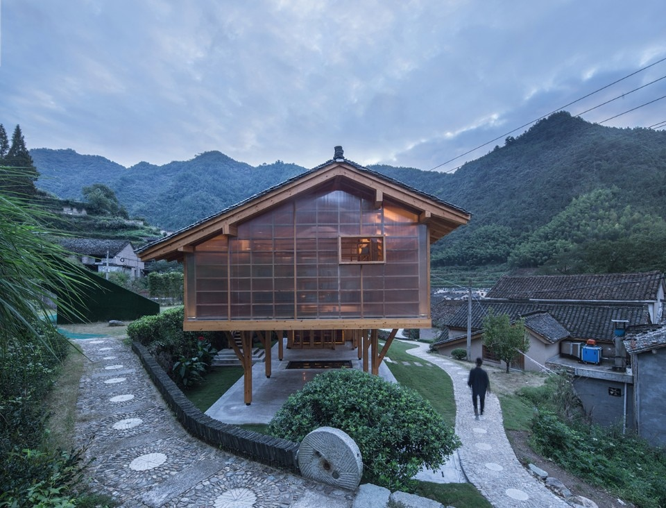 Shulin Architectural Design, book house, Liangjiashan, Cina, 2018