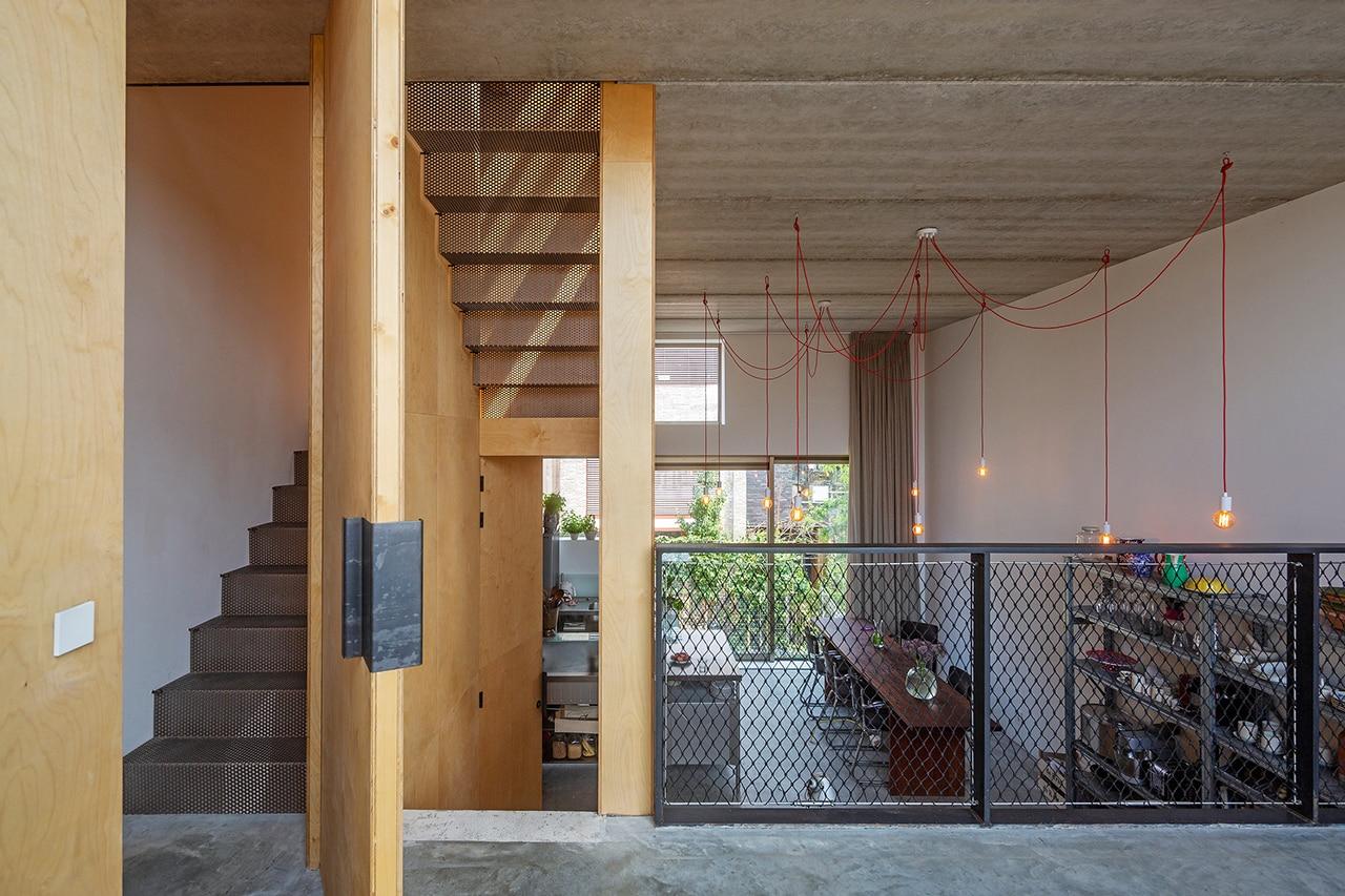 Una Casa Ad Amsterdam Con Spazi Fluidi E Senza Stanze Chiuse Domus