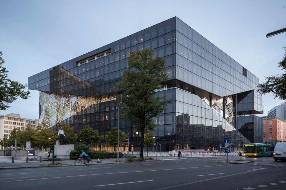 OMA, Axel Springer Campus, Zimmerstrasse, Berlin, Germany, 2020