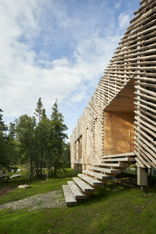 Mork-Ulnes Architects, Skigard Hytte, Kvitfjell Resort, Fåvang, Norway, 2020