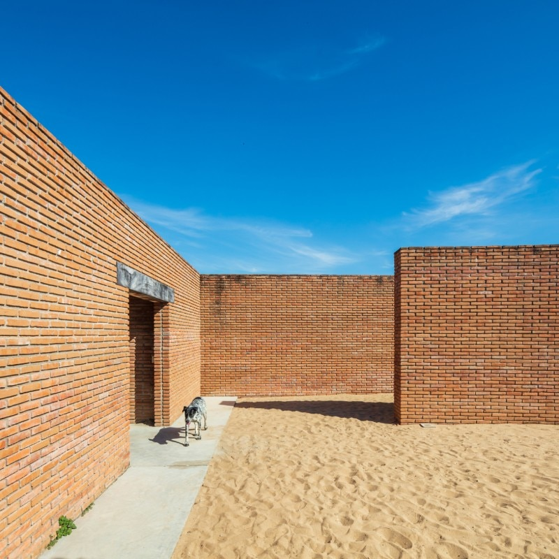 The Clay Pavilion, Alvaro Siza, Puerto Escondido, Oaxaca, Mexico