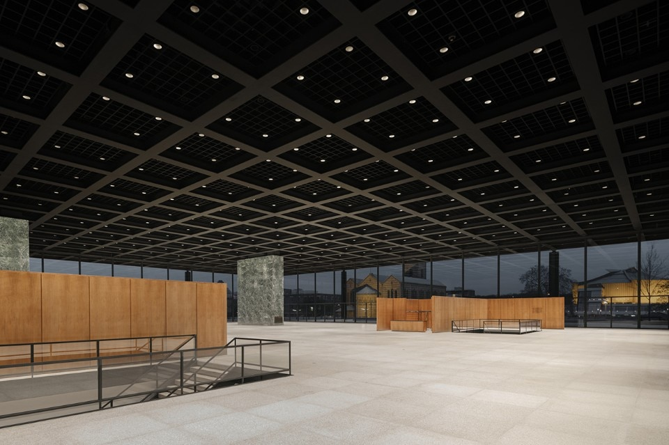 David Chipperfield Architects, Neue Nationalgalerie refurbishment, Berlin, Germany, 2012-2021