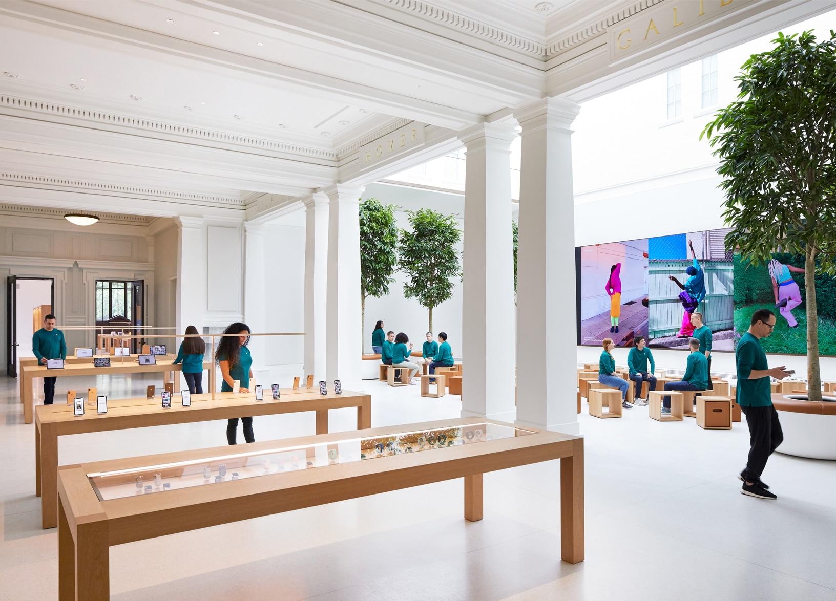 Apple Store Roma via del Corso: recupero artistico