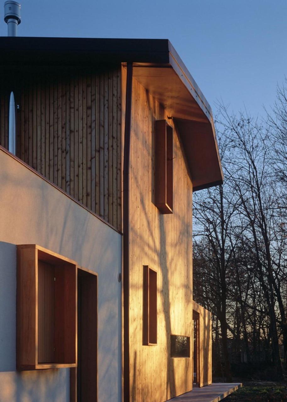 Arbau studio ghaus casa in legno a spresiano tv domus for Mazzocchi strutture in legno