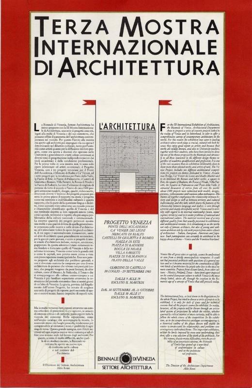Gli archi di aldo rossi domus for Aldo rossi architettura della citta