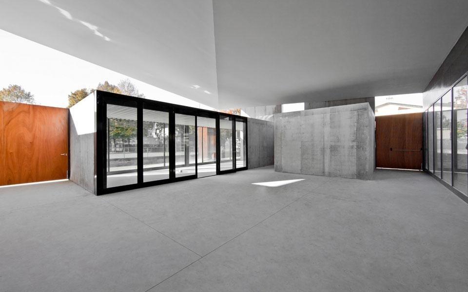 Gsmm architetti centro polifunzionale domus for Design dello spazio esterno