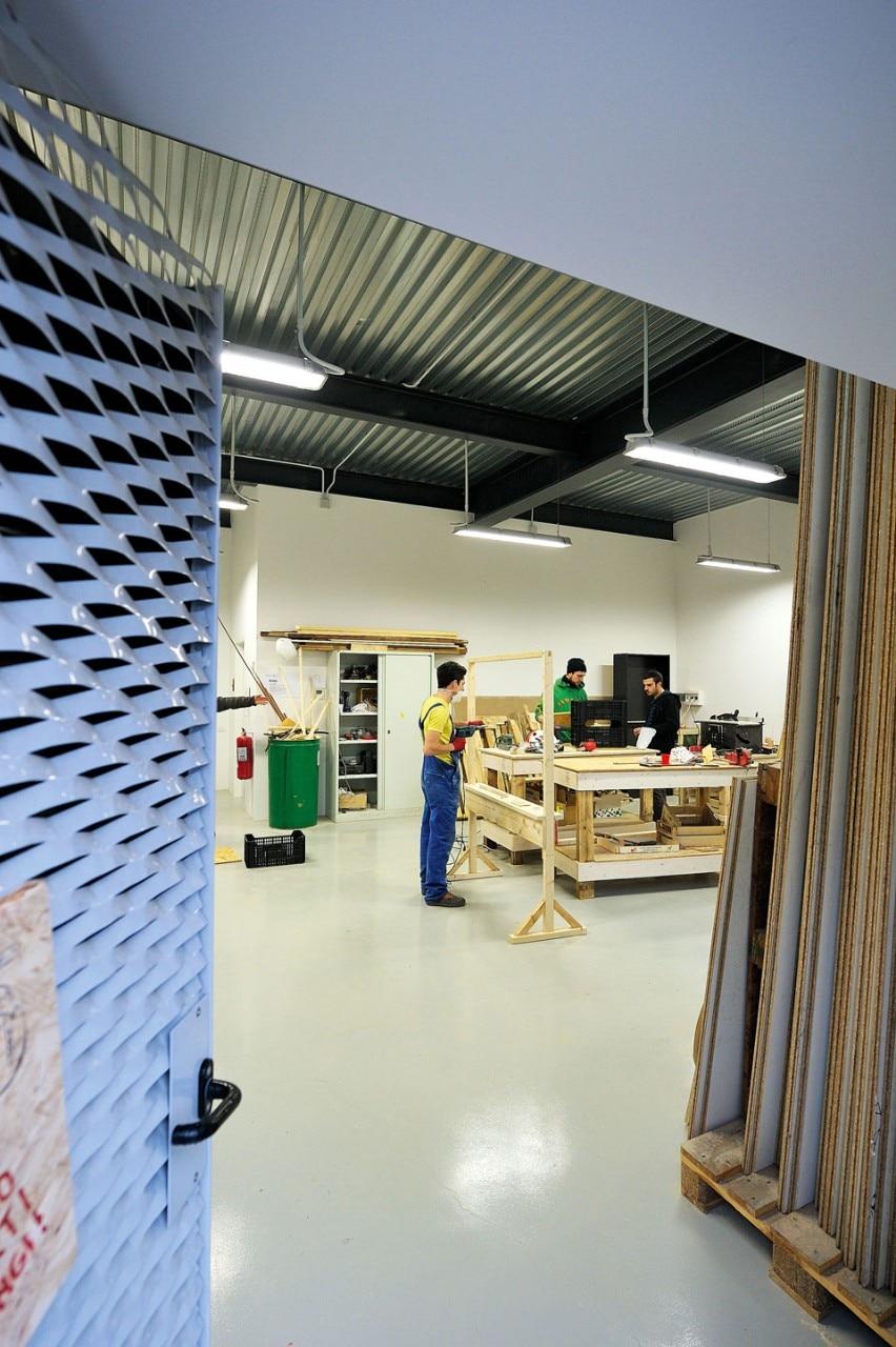 Condensatore culturale domus for Piani artistici per artigiani con suite di artisti