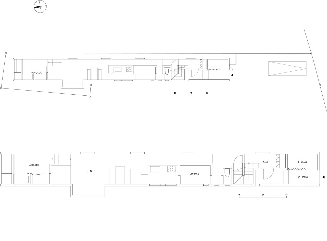 Form promenade house for Form house plan