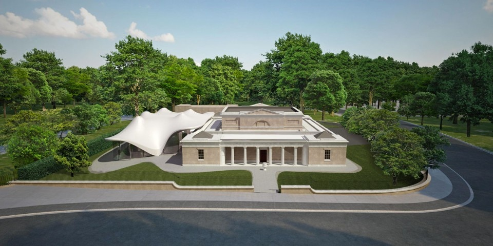 Zaha Hadid Architects, Serpentine Sackler Gallery. Rendering