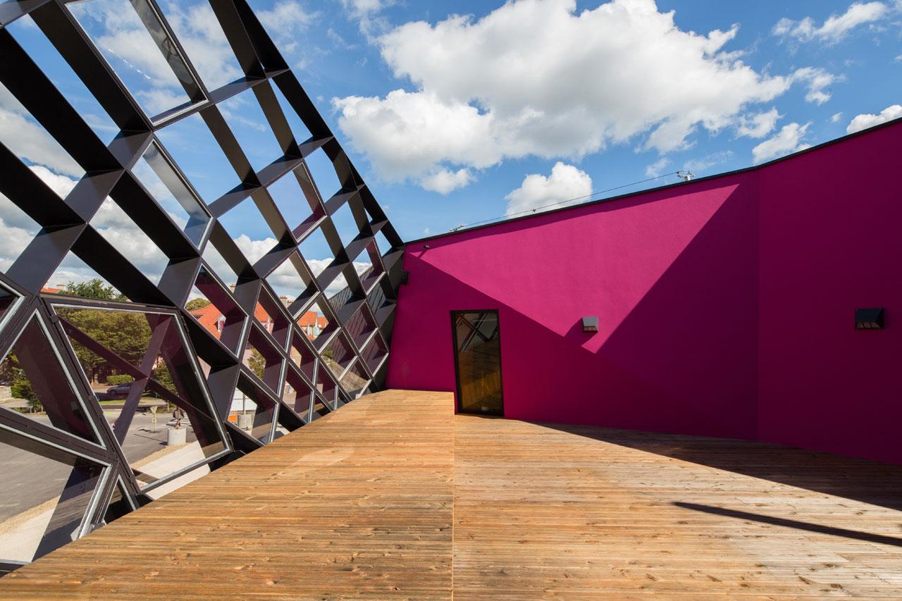 paul le quernec cultural centre mulhouse. Black Bedroom Furniture Sets. Home Design Ideas
