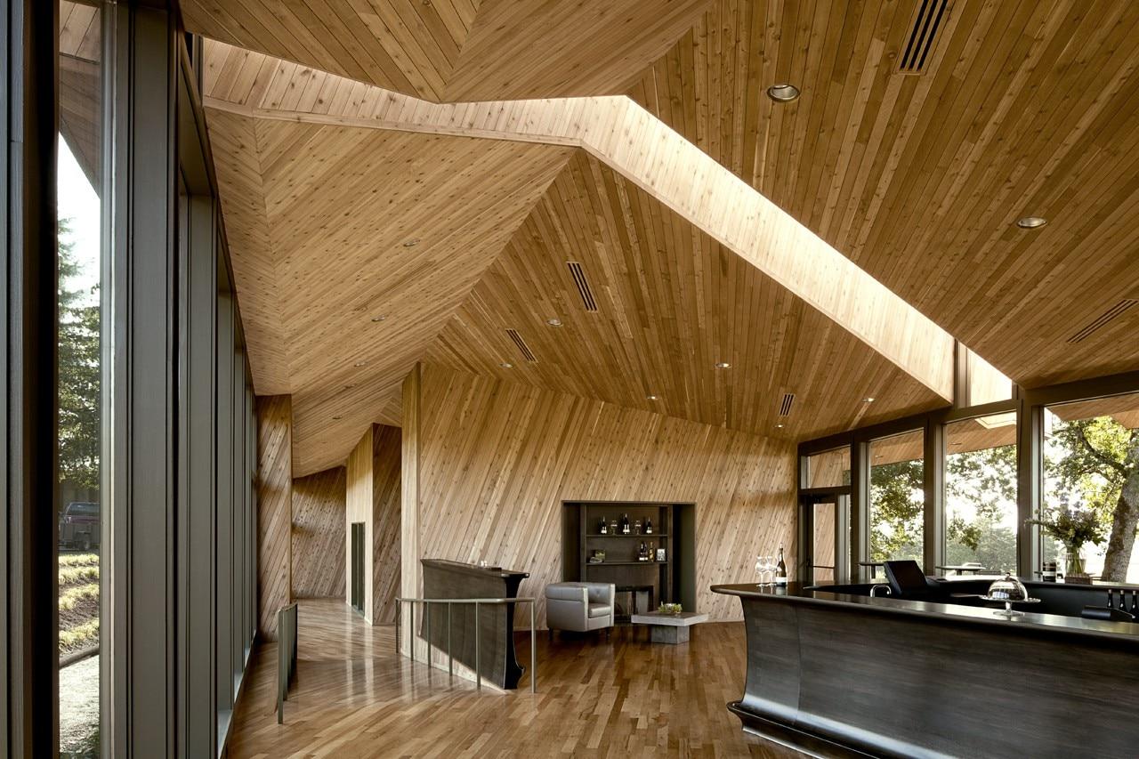 Sokol blosser winery domus for Architettura vernacolare
