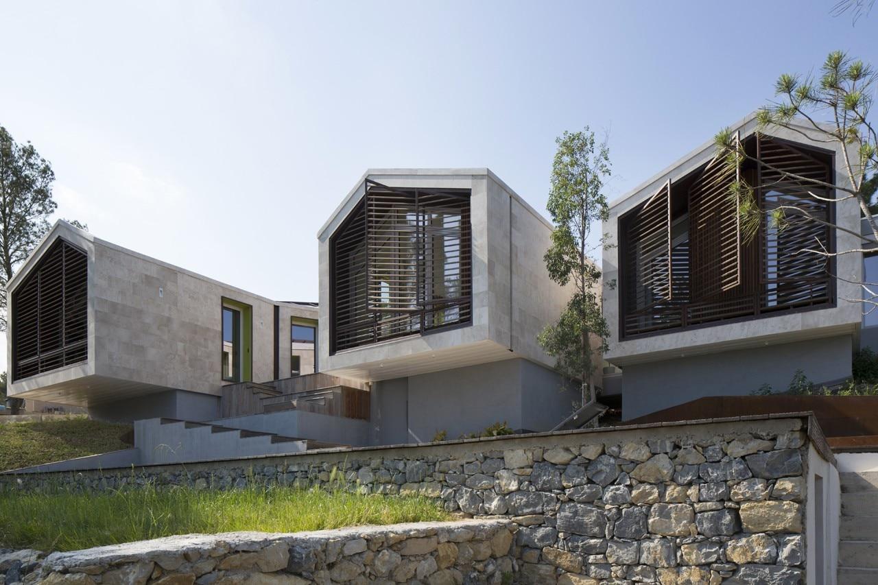 Nbj casa unifamiliare domus for Architettura case