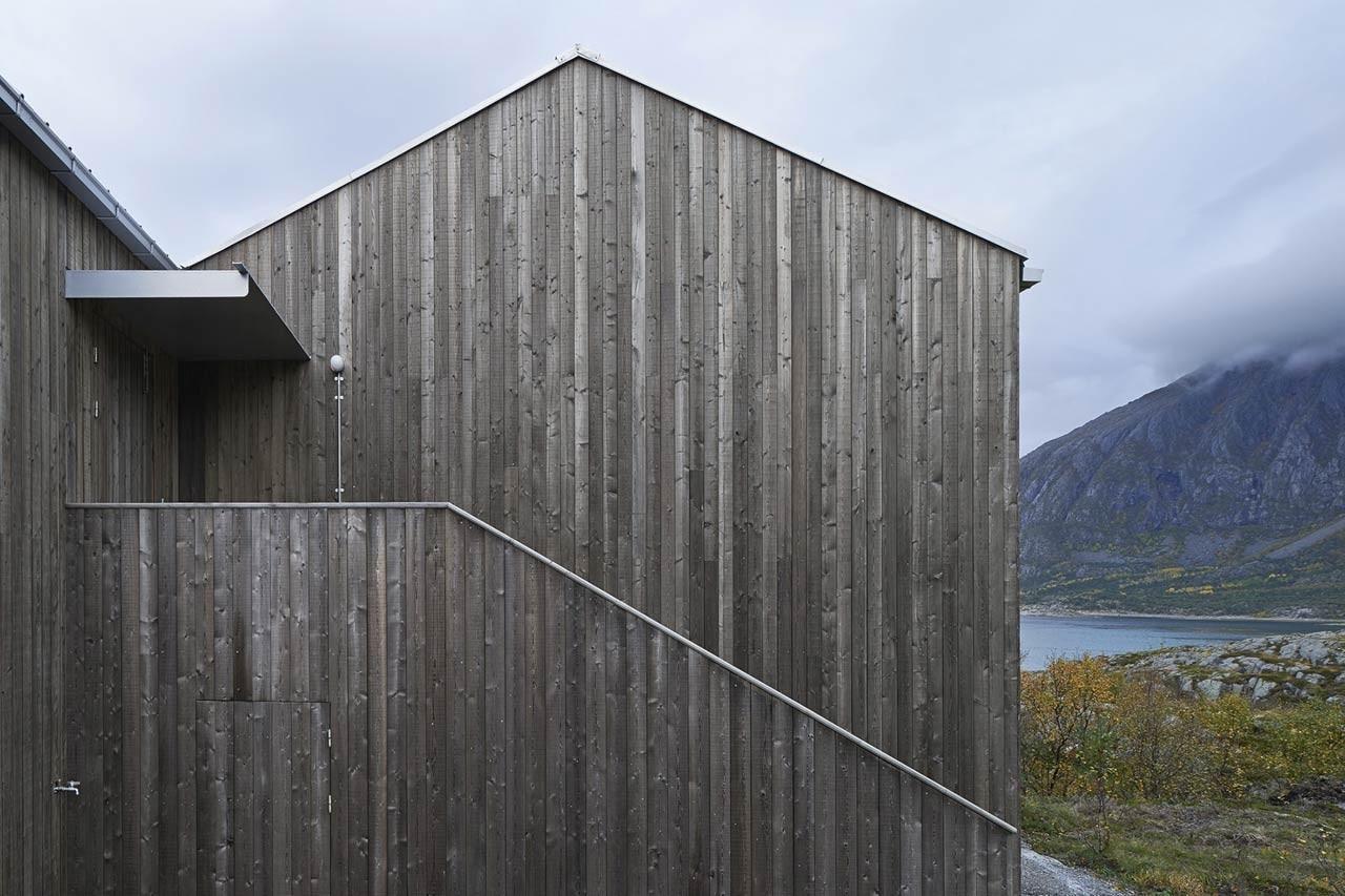Vega cottage domus for Architettura vernacolare