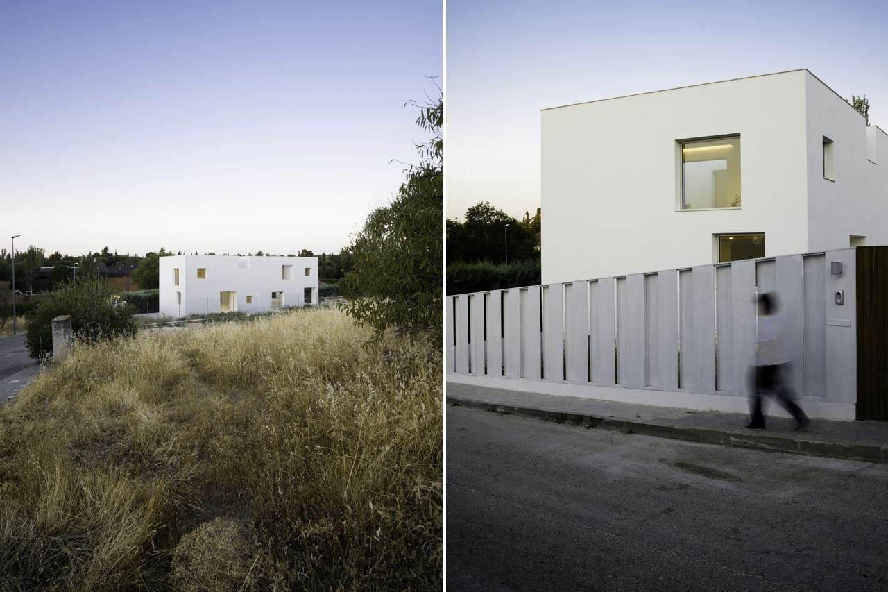 Architettura A Madrid bojaus: casa h - domus