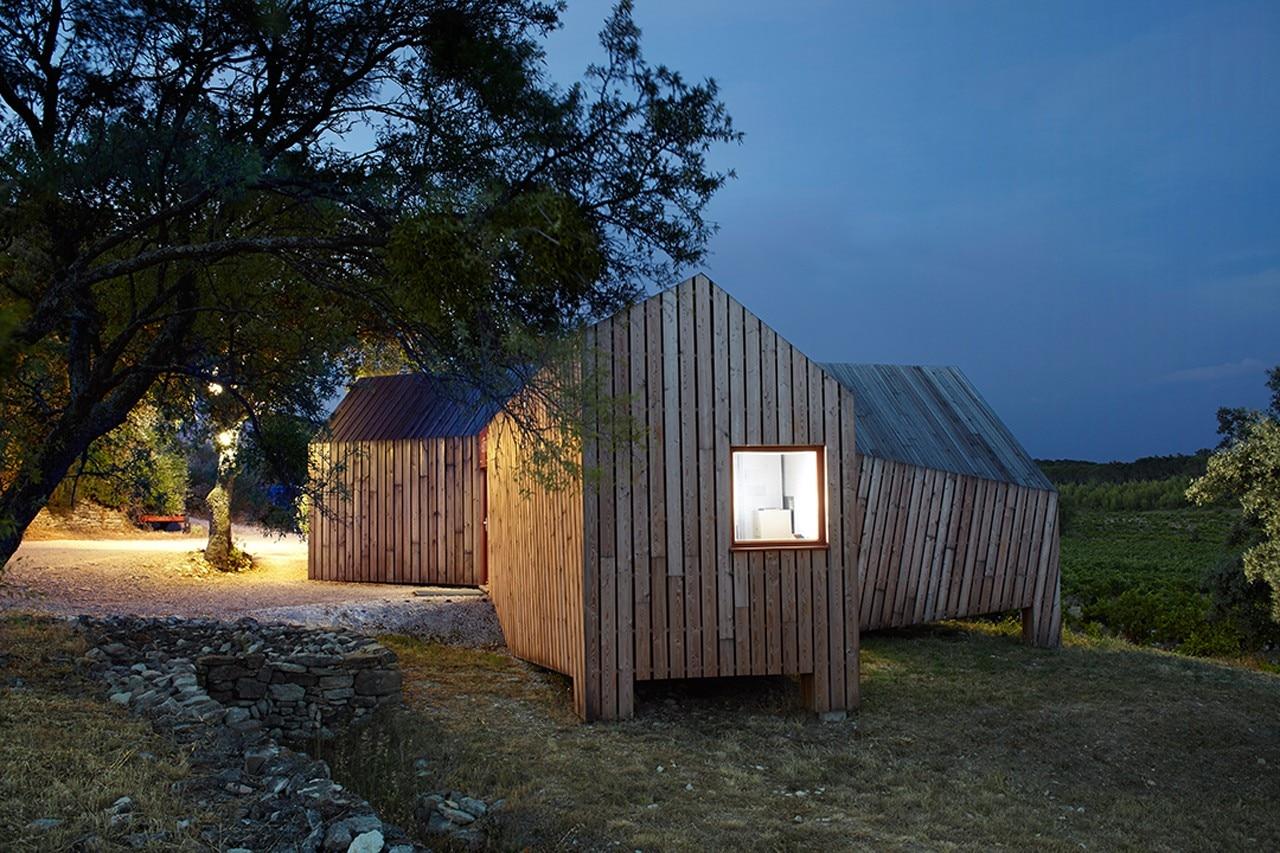 H2o architectes la cabotte domus for Architettura vernacolare