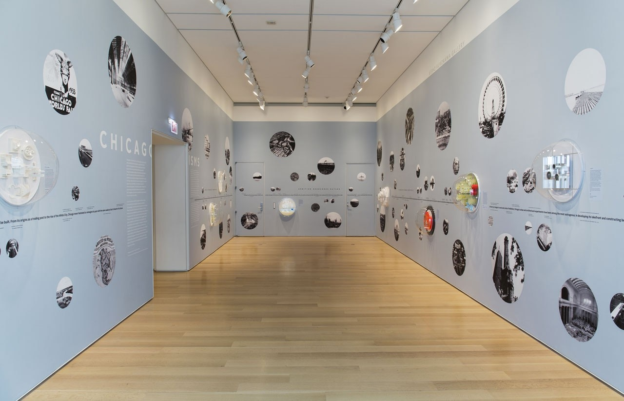 "Installation view of ""Chicagoisms"" at the Art Institute of Chicago"