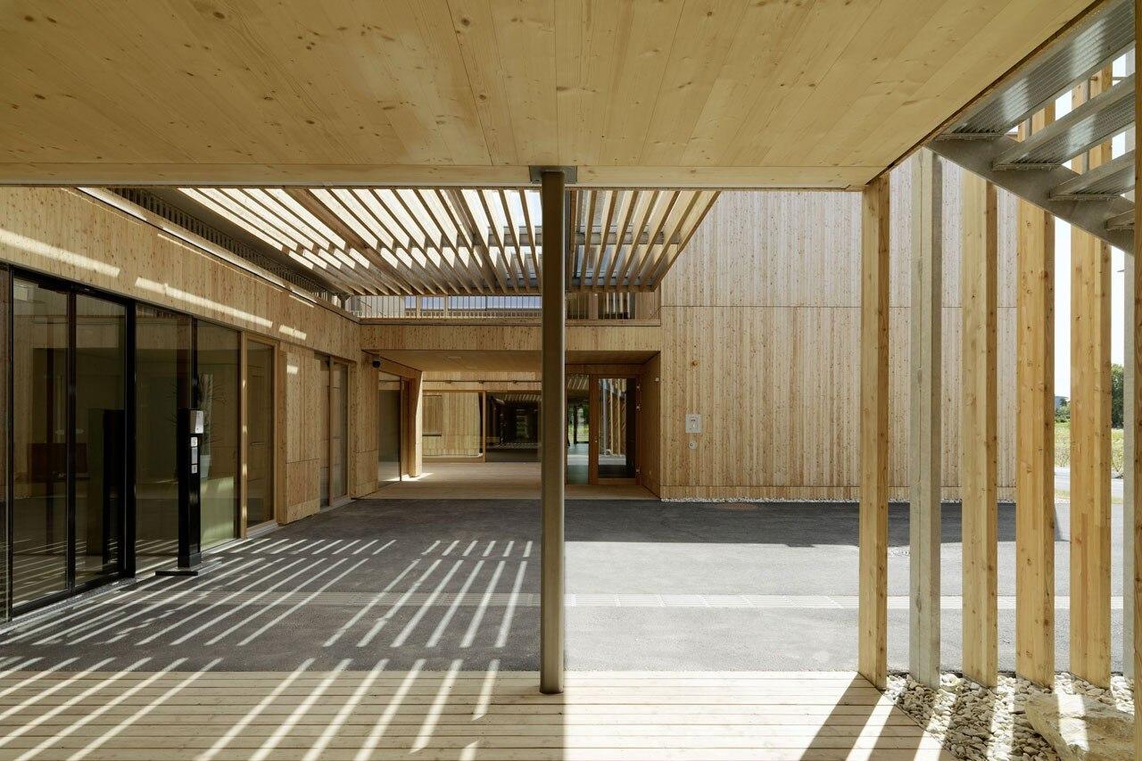 Casa di cura rosegger Nursing home architecture