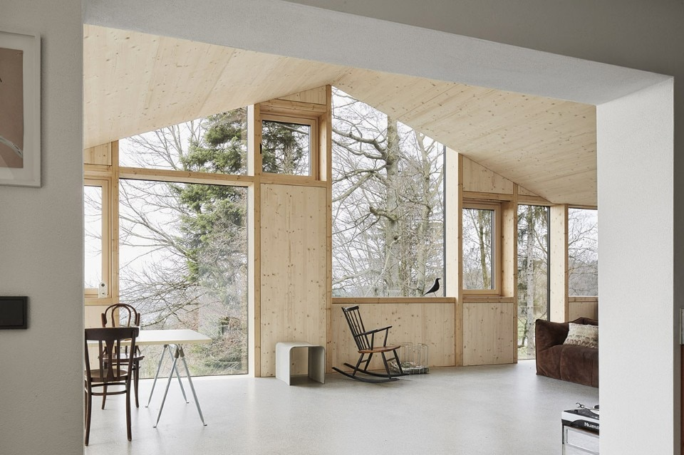 Haus hohlen domus for Mazzocchi strutture in legno