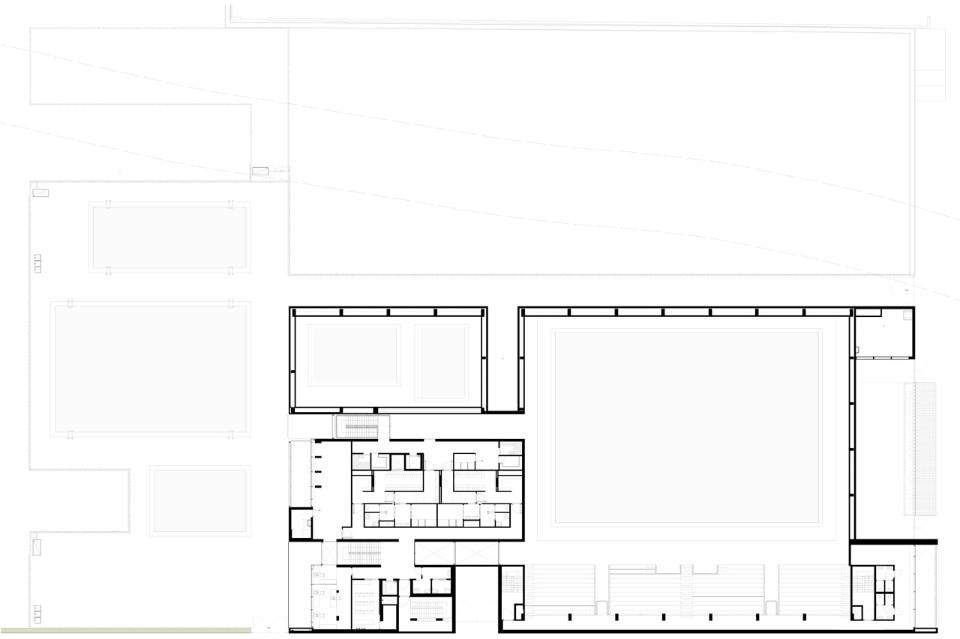 Centro natatorio a brescia domus for Arredi spogliatoi dwg