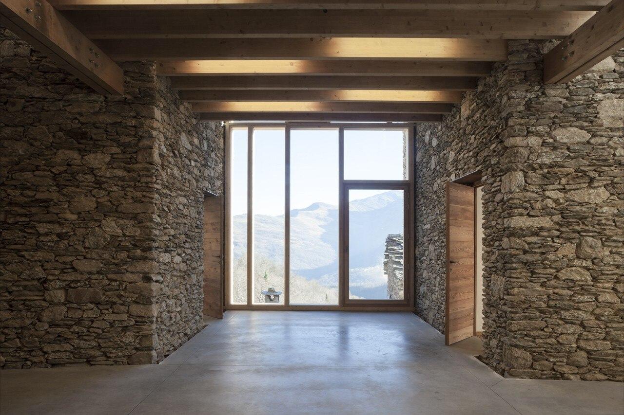 Studi Di Architettura Cuneo lou pourtoun - domus