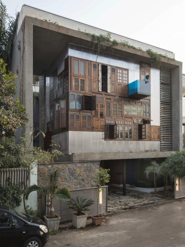 S+PS Architects, Collage House