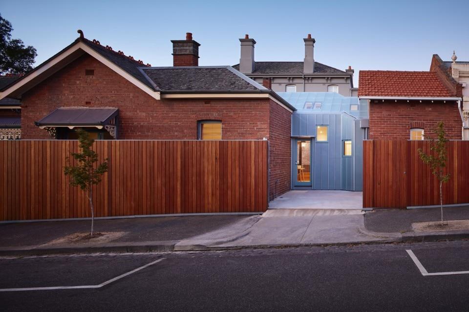Parkville melbourne domus for Casa vittoriana in mattoni
