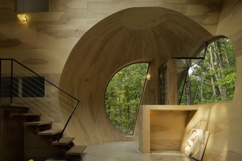 Steven holl ex of in house domus for Mazzocchi strutture in legno