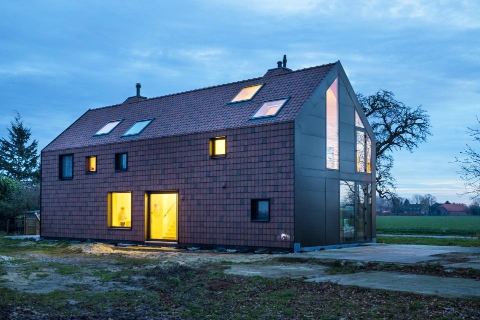 Dear farm domus for Planimetrie della fattoria contemporanea