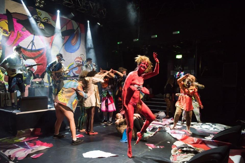 Marvin Gaye Chetwynd con MEGA HAMMER, An Evening of Performances + DRAF 10th Anniversary Party at KOKO. Photo Max Colson