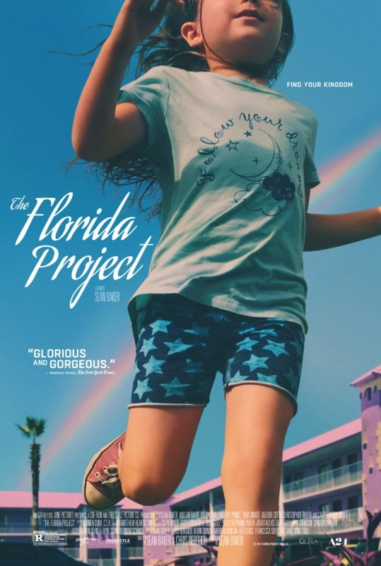 The Florida Project, poster of the film