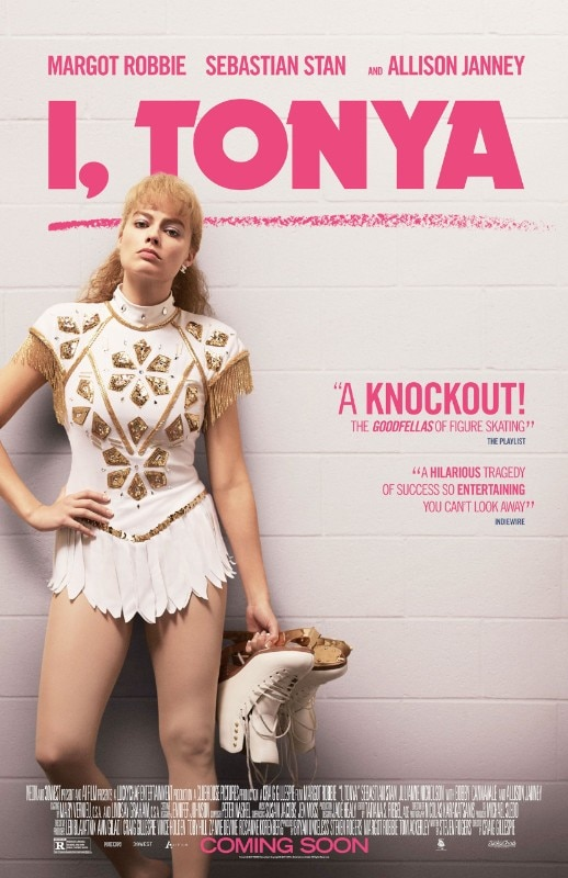 I, Tonya, poster of the film directed by Craig Gillespie