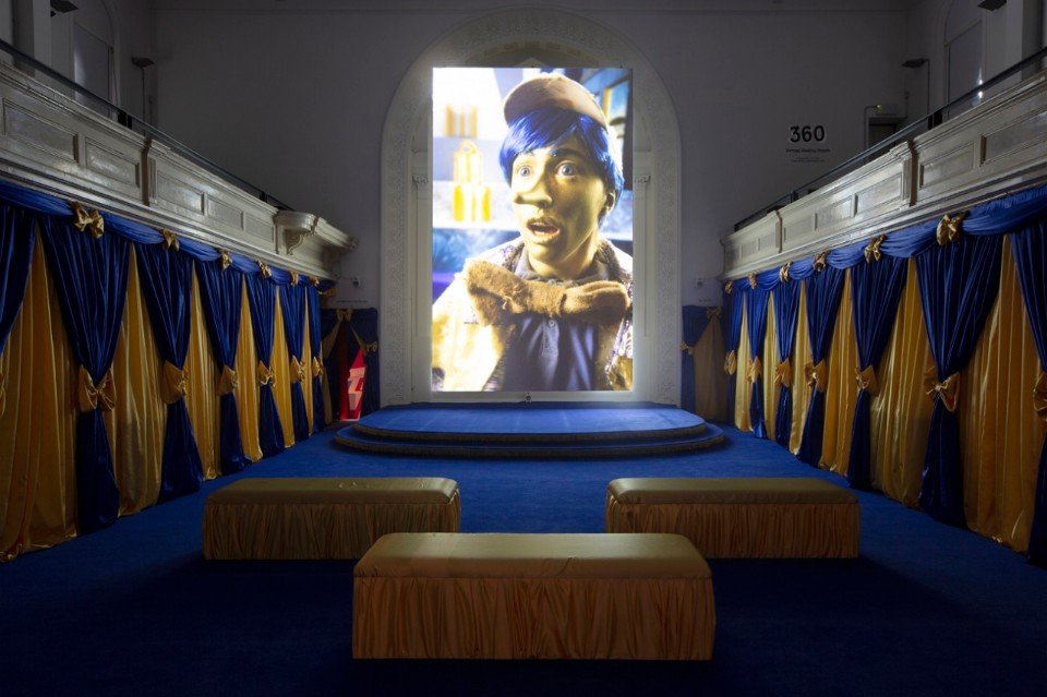 Rachel Maclean, Zabludowicz Collection, London. Spite Your Face, 2017. Digital video installation. Commissioned by Scotland + Venice 2017. Courtesy the artist and Zabludowicz Collection.
