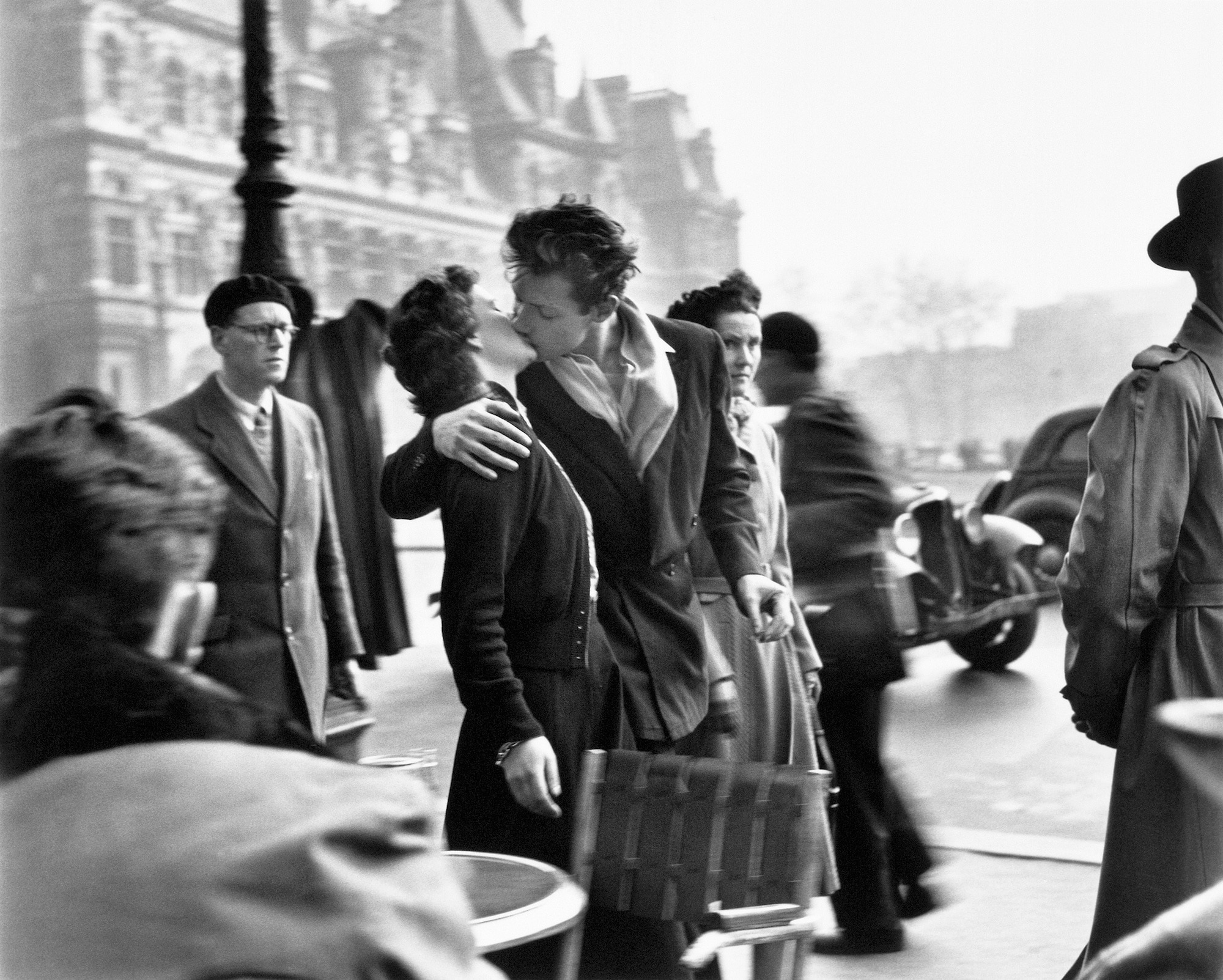 "Robert Doisneau, my father, hated nothing but authority"" - Domus"