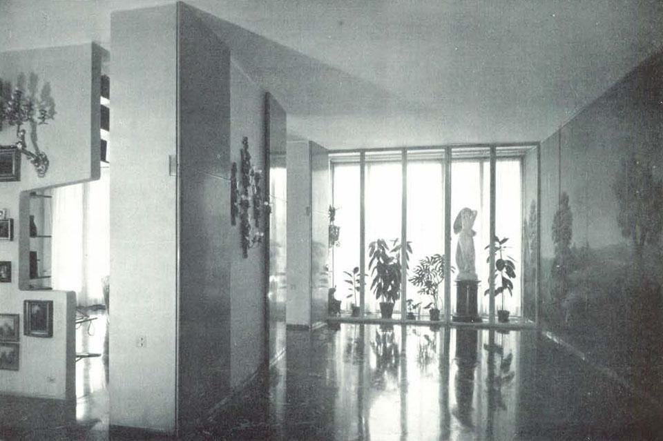 Casa al parco milano 1947 54 domus for Casa borsalino gardella