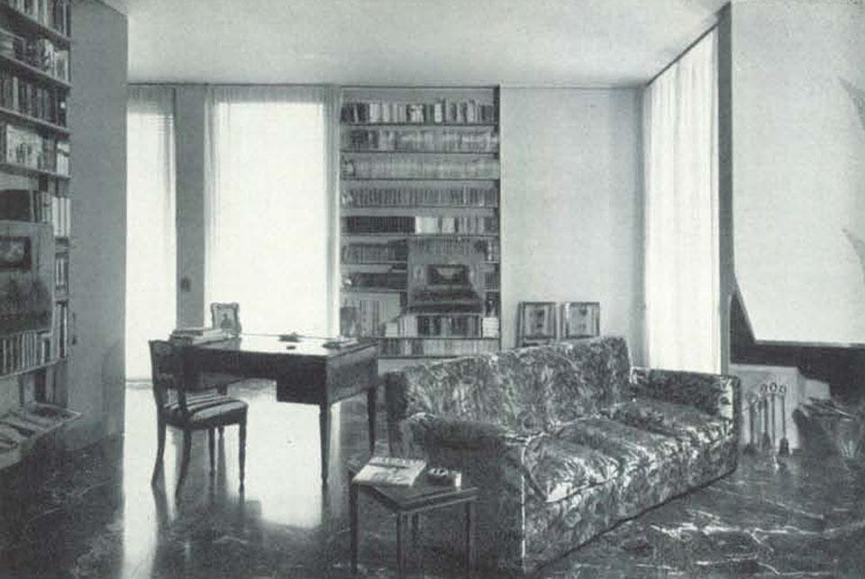 Casa al parco milano 1947 54 for Casa borsalino gardella