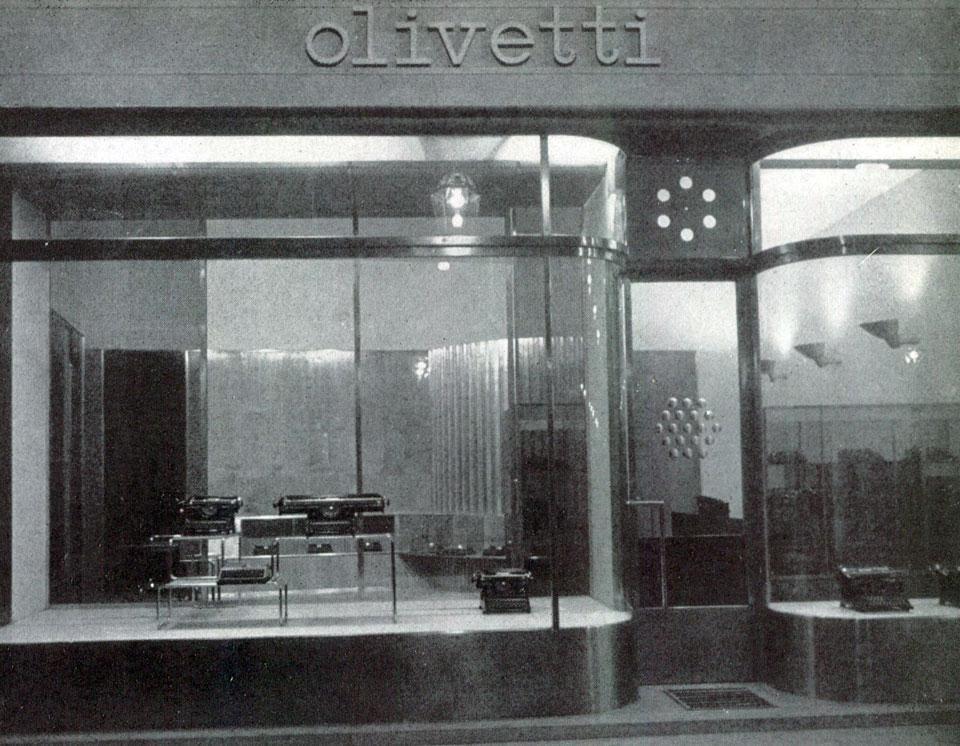 Negozio Olivetti a Torino - Domus
