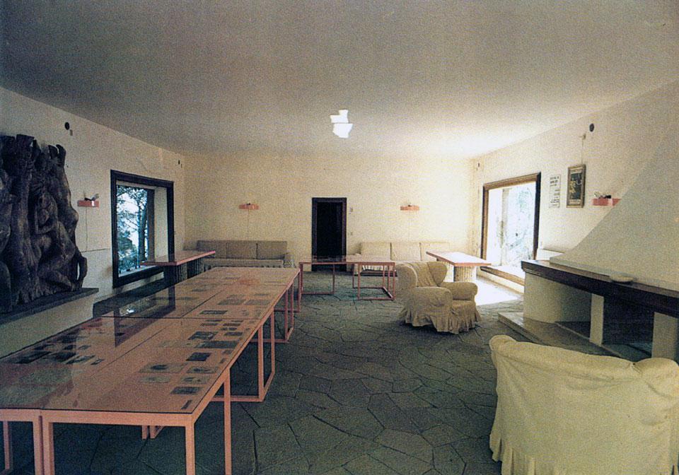 Adalberto libera e villa malaparte for Casa malaparte interni
